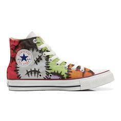Scarpe Converse All Star Alte personalizzate (scarpe artigianali) Fantasy 2  Converse - TG40  Amazon.it  Scarpe e borse 2ea7e17a5d8