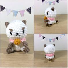 Free Puppycat amigurumi pattern #beeandpuppycat #puppycat