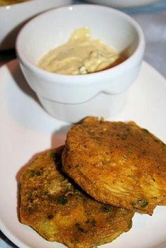 Beignets d'aubergine à l'indienne