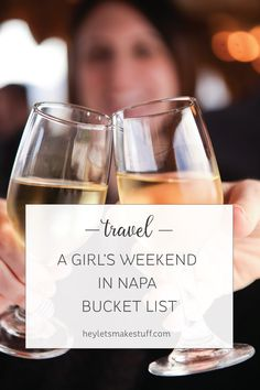Here is everything you need to do if you're headed out for a girls' weekend in Napa Valley! Visit Napa | Hosted | Travel | Wine | Food