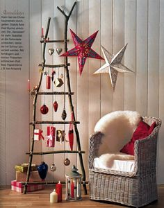 A Christmas ladder...