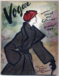 Vogue Paris Octobre 1949