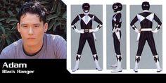 Mighty Morphin Power Rangers Black Ranger #2-Adam