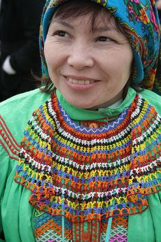 Portrait of a Mansi woman © Irina Kazanskaya. | The Mansi (obsolete: Voguls) are indigenous people (a disappearing culture) living in Khanty–Mansia, an autonomous okrug within Tyumen Oblast in Russia. In Khanty–Mansia, the Khanty and Mansi languages have co-official status with Russian.