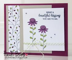 Sale-A-Bration Flowering FieldsStamp with Tania. I'm here to give you fun project ideas, share special offers, and, of course, teach you about fantastic stamping products. www.taniad.stampinup.net   www.stampwithtania.blogger.com.au Tania D'Alberto Stampin' Up! Independent demonstrator.