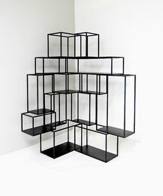 Cornerblock Racks (Set of 2) by Nathan Young | Obodo