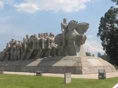 Monumento Às Bandeiras - Parque do Ibirapuera