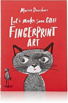 I love the idea of getting kids to use their fingerprints to create This will delight the crafty/artistic kid in my household - Chronicle Books Let's Make Some Great Fingerprint Art