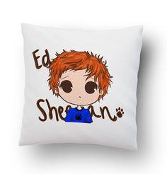Ed Sheeran Drawing Pillow Cover