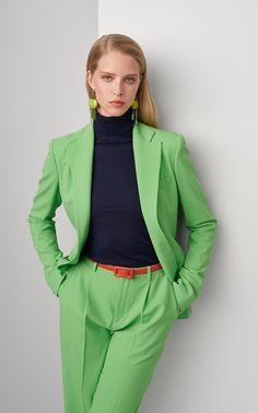 Leander Wool-Blend Jacket by Ralph Lauren Suit Fashion, Fashion Tips, Fashion Quiz, 70s Fashion, Winter Fashion, Cocktail Attire, David Koma, Estilo Fashion, Ralph Lauren Collection