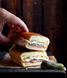 Cuban Pork Cubano Sandwiches