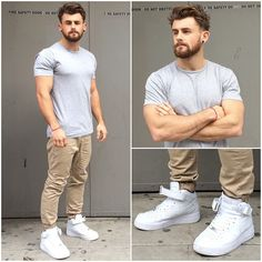 L:C Dude | Nathan McCallum in joggers Mens Fashion Wear, Fashion Outfits, Mode Man, Casual Outfits, Men Casual, Look Street Style, Herren Outfit, Fashion Joggers, Urban Dresses