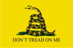 Gadsden Flag: A historical American flag named after American general and statesman, Christopher Gadsden. It was the first flag ever carried into battle by the United States Marine Corps, during the American Revolution. Dont Tread On Me, List Of Teas, Tea Party Movement, Obama Poster, Easy French Twist, Gadsden Flag, God Bless America, Revolutionaries, American History