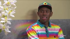 Tyler the creator thought about it lol look at his face Odd Future, To My Future Husband, Races Fashion, Fashion Art, Young T, Tyler The Creator, Hot Hunks, Flower Boys, Rupaul