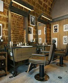 Outro Dia Vi Que Abriram Aqui Em Joinville Uma Barbearia Charmosa E Vintage,  E Quando