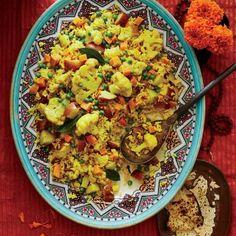 Tahiree Vegetable and Rice Casserole Recipe   CookingLight.com