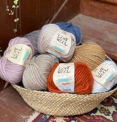 Katia Love Wool - 15% Superfine Alpaca 85% Virgin Wool | 9. Bulky/Super Bulky from TitiTyy online yarn store. Shop your autumn yarns from www.titityy.fi/en #yarns #lovewool #woolyarns #yarncolors Arm Knitting Yarn, Yarn Color Combinations, Colours That Go Together, Online Yarn Store, Yarn For Sale, Yarn Storage, Winter Blankets, I Love This Yarn, Yarn Inspiration