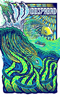 INSIDE THE ROCK POSTER FRAME BLOG: Brad Klausen Widespread Panic ...