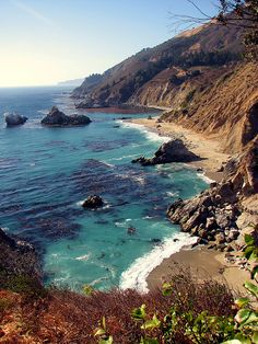 Big Sur Looking North by JohnThomson one of the most beautiful places I've ever been Oh The Places You'll Go, Places To Travel, Places To Visit, Dream Vacations, Vacation Spots, Beautiful World, Beautiful Places, The Great Outdoors, Wonders Of The World