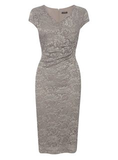 Mocha Lace Occasion Dress