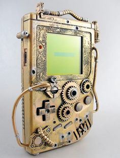 Creative skin for Nintendo's 8-bit handheld video game system. || that's pretty cool lookin'