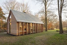 Recreation House Near Utrecht  by Roel van Norel  and Zecc ArchitectenDesigned by Zecc Architecten in collaboration with Roel van Norel, in the rural area north of Utrecht a compact recreation house has been realized. Th... Architecture Check more at http://rusticnordic.com/recreation-house-near-utrecht-by-roel-van-norel-and-zecc-architecten/