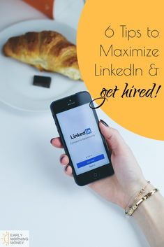 Get Hired! 6 Best Tips to Create a Killer LinkedIn Page — Early Morning Money Make More Money, Make Money Blogging, Make Money From Home, Money Tips, Extra Money, Find A Career, Career Change, Linkedin Page, Ask For A Raise