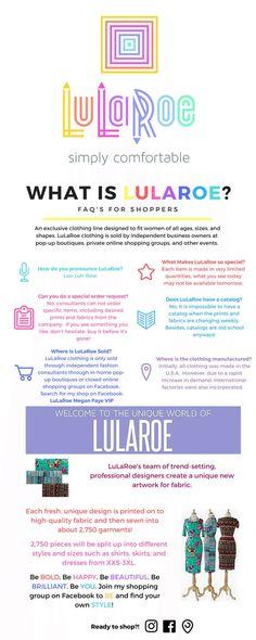What is LuLaRoe! It's Uh-Mazing!!#lularoecathyha
