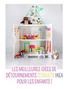Ikea hacks : les meilleures idées de détournements d'objets Ikea pour les enfants !