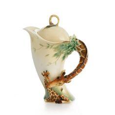 Franz Collection Endless Beauty Giraffe Teapot