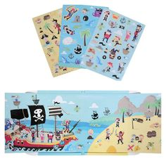 """Say, """"Aaargh!"""" The Magna Carry Playbooks are ideal travel and magnetic toys that help foster creative thinking and imaginative play!"""