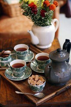 A wee cuppa tea.