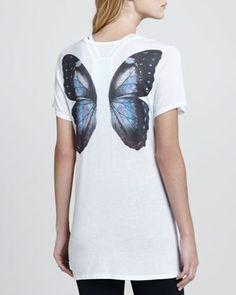 Love, Simdog Fly Away Wing-Back Tee - Neiman Marcus