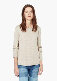 Pullover disegno pois - Cardigan e pullover da Donna | MANGO
