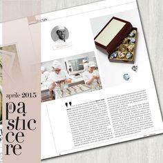 Intervista per IL PASTICCERE - Aprile 2015