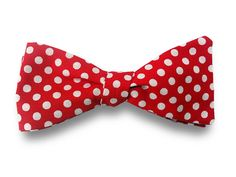 Casual Polka Dot Bow Tie - shop.Lavaguy.com