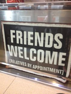 A funny sign I found at Druxy's Deli.  They are located on Queen Street East, Toronto Ontario.  Try the rice pudding!