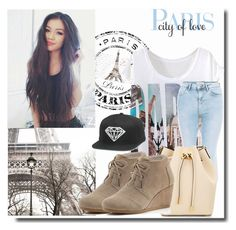 """""""#79 Paris"""" by charlotte-sk ❤ liked on Polyvore featuring New Look, Michael Kors and TOMS"""