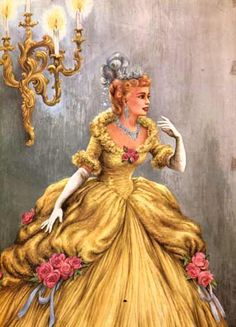 Cinderella illustrations by Ruth Ives, 1954