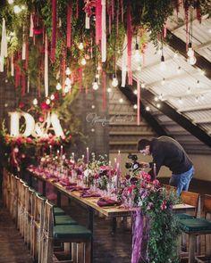 Loft wedding decor, only live plant & flowers @art_petrov  Свадьба в лофте   Оформление свадьбы Новосибирск (@art_petrov)