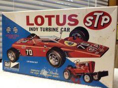 MPC Lotus STP #70 Indy Turbine Car 1/25th  1995 Release PARTS #AMTERTLMPCnamed