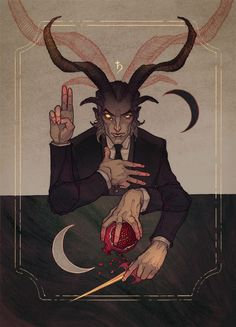 The devil. He has more control than just a soul. He will take all of your being and leave nothing behind. If you've given your oath to the devil, prepare to give up your existence. Character Concept, Character Art, Concept Art, Character Design, La Danse Macabre, The Ancient Magus, Wow Art, Horror Art, Dark Art