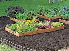 2' Cedar Raised Beds - Gardener's Supply Company