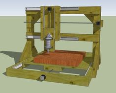Picture of DIY CNC Router Plans : How to Build