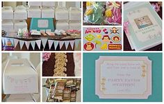 Monkey party favor station DIY favors First Birthday