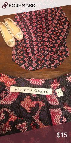 Nordstrom Violet & Claire blouse 👚🎀🦄 EUC - beautiful colors!! Violet & Claire Tops Blouses