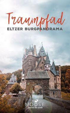 Der Traumpfad Eltzer Burgpanorama ist einer der schönsten Wanderwege Deutschlands.   Abwechslungsreich geht es durch Felder, Wiesen und Wald zu einem echten Märchenschloss, der Eltzer Burg!   #burgeltz #eltzcastle