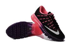 half off 0e369 b7816 Get Nice Nike Air Max 2016 Black Purple Running Shoes Shipping With DHL