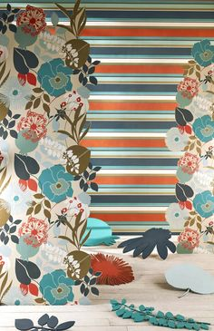 Standing Ovation Collection by Harlequin. #interiordesign #harlequin #wallpaper #standingovation #malcolmfabrics