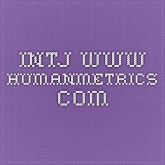 INTJ www.humanmetrics.com